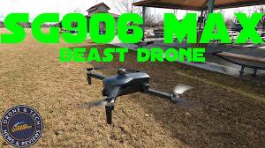 <b>SG906 MAX Beast 3</b> Drone Full Flight Review - YouTube