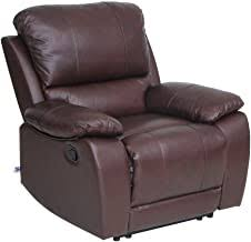 Genuine Leather Recliner - Amazon.com