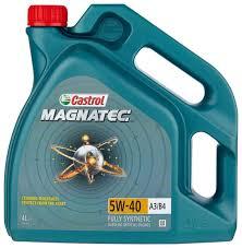 <b>Моторное масло Castrol Magnatec</b> 5W-40 А3/В4 4 л — купить по ...