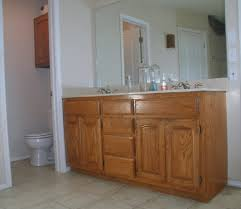 Paint Grade Cabinets How To Paint Bathroom Cabinets Finished Chalk Paint Bathroom