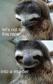 Memes Vault Rape Sloth Memes – Christmas via Relatably.com