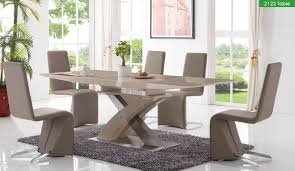 Five Piece Dining Room Sets 2122 5 Piece Dining Room Extending Set By Esf Furniture Sohomodcom