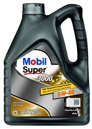 Моторное <b>масло MOBIL Super</b> 3000 X1 5W-40 4 л — купить по ...
