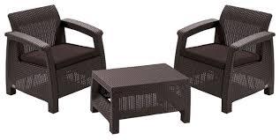 <b>Комплект мебели KETER</b> Corfu weekend (стол, 2 кресла ...