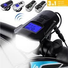 Multifunctional <b>Bicycle Light</b> USB Rechargeable <b>Bike Computer</b> ...