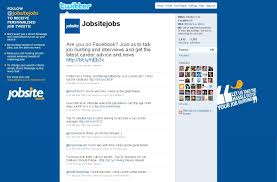 top 20 tweeters all job seekers should follow jobsite insider fireshot capture 164 jobsite co uk jobsitejobs on twitter twitter com jobsitejobs