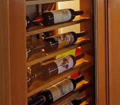 inside looking out bellevue custom wine cellar