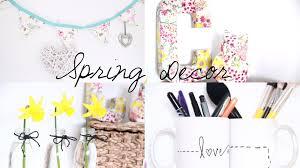 Spring Decorating Diy Spring Room Decor Inspiration Youtube