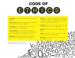 personal code of ethics paper buy it now get bonus karaeccleston com