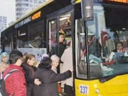 İstanbul'da YGS'ye ücretsiz ulaşım