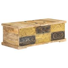 <b>Coffee Table 100x50x35 cm</b> Solid Mango Wood Sale, Price & Reviews