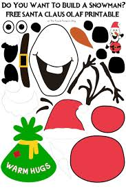 do you want to build a snowman santa claus olaf edition santa claus olaf do you want to build a snowman printable tons of