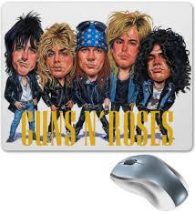 Коврик для мышки Guns N' <b>Roses</b> #445472 от Leichenwagen