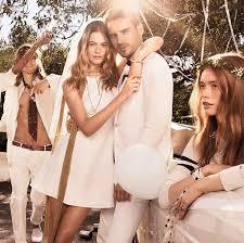 Behati Prinsloo Has a White Wedding for <b>Tommy Hilfiger</b> Spring ...