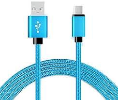 Fabric Braided 6 ft USB-C Type-C Data Sync Charger ... - Amazon.com