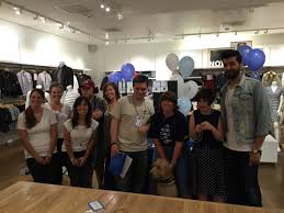 young adults autism learn valuable skills at gap shadow day students from garden autism and spectra autism center came out today to participate in gap s shadow day participants learned how to greet customers