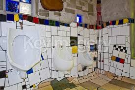 image quarter bamboo bathroom stool hundertwasser kawakawa photo  copyright hundertwasser toilet kawakawa new zealand stock file  x