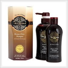 <b>Richenna Gold Henna Clinic</b> Shampoo with Oriental Herb Formula ...