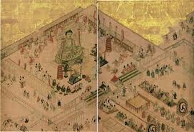 「752年 - 東大寺盧舎那仏像」の画像検索結果
