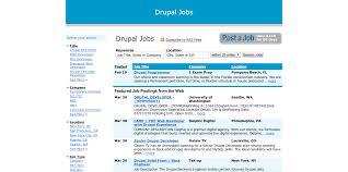 7 websites for finding drupal jobs drupal jobs at drupalsearch