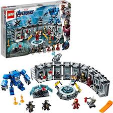 LEGO Marvel Avengers Iron Man Hall of Armor 76125 ... - Amazon.com