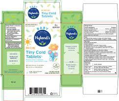 Hyland's <b>Baby</b> Daytime <b>Tiny Cold</b> Tablets