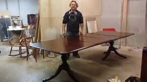 Restaining Kitchen Table Refinishing A Thomasville Cherry Dining Table At Timeless Arts