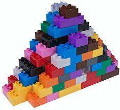 Amazon.com: Strictly Briks - 108 Pieces - <b>12 Rainbow Colors</b>