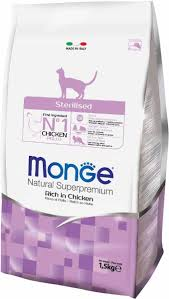 """<b>Корм сухой Monge</b> """"<b>Cat</b> Sterilized"""", для стерилизованных кошек, 1 ..."""