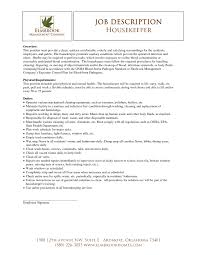 sample resume housekeeping job cipanewsletter housekeeping resume template design