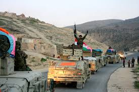 Image result for Peshmerga attack Sinjar