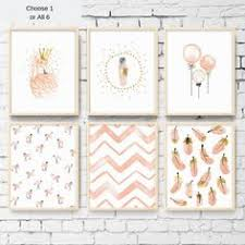 Flamingo Water Color <b>Nursery</b> Girl Bedroom Decoration Flamingo ...