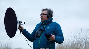 earth listen to one of the best dawn choruses in britain specialist sound recordist gary moore recording birdsong credit jeremy coles