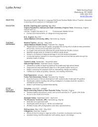 reading teacher resume
