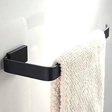WINCASE Short Towel Holder Towel Bar, <b>Black Oil Rubbed Bronze</b> ...