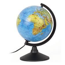 <b>Глобус физический Globen</b> Классик, диаметр 210 мм, с подсветкой
