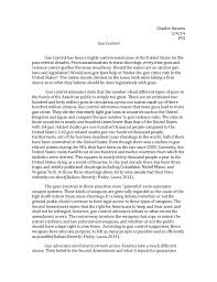 college essays  college application essays   essay on gun controlessay against gun control