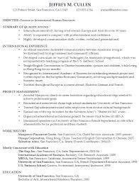 Functional Resume Sample: International Human Resources Sample Resume International Human Resources