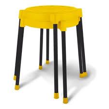 <b>Табурет Sheffilton SHT-S36</b> желтый/черный (пластик/металл ...