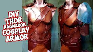 how to <b>Thor Ragnarok Cosplay</b> foam Armor - YouTube