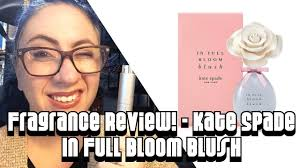 Fragrance Review :: <b>Kate Spade In Full</b> Bloom Blush | Designer ...