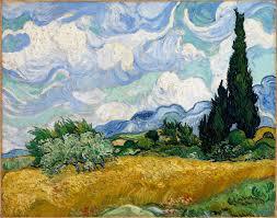 File:Vincent van Gogh - <b>Wheat Field with</b> Cypresses - Google Art ...