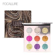FOCALLURE <b>Professional 9 Colors Makeup</b> Eyeshadow Palette ...
