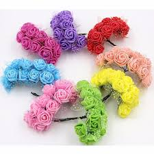 online get cheap rose papers com alibaba group 1 bag 1 colour 144 pcs artificial paper rose flower diy candy box