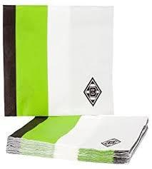 <b>Borussia</b> Mönchengladbach Napkins <b>Black/White</b>/Green: Amazon ...