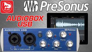 <b>Аудио интерфейс</b> PRESONUS AUDIOBOX USB - YouTube