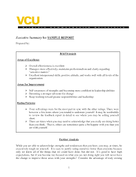 examples of executive summaries example xianning examples of executive summaries example sample of executive summary a report template business synopsis examples