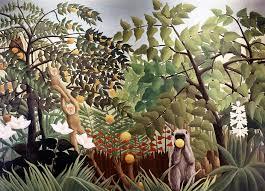 <b>Exotic Landscape</b> - <b>Henri Rousseau</b> – affordable wall mural ...