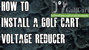 <b>36</b> or 48 Volt Voltage Reducer | How To Install Video Tutorial | Golf ...