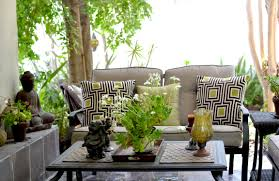 patio living space view